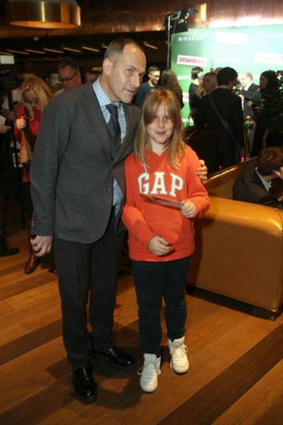 Михаил Шац с дочерью