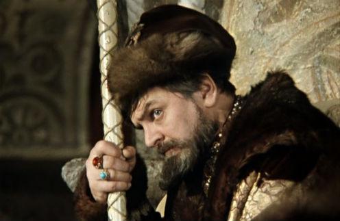 Юрий Яковлев в образе царя Ивана Грозного