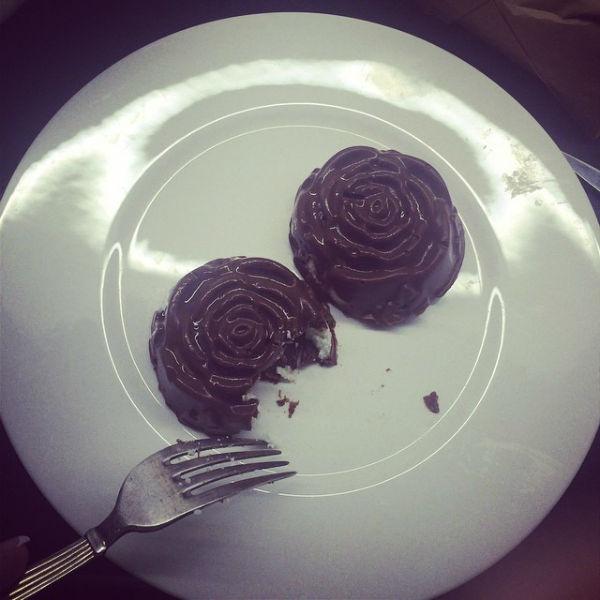 Десерт выглядит очень аппетитно