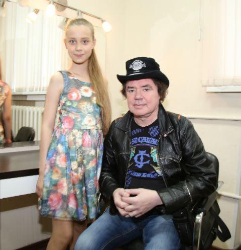 Внебрачная дочь Евгения Осина: «Папа меня балует»