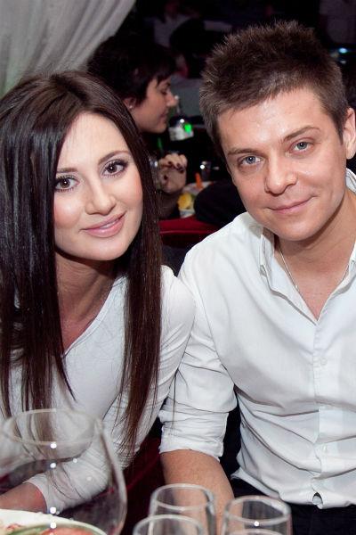 Дмитрий Пакуличев с женой Евгенией