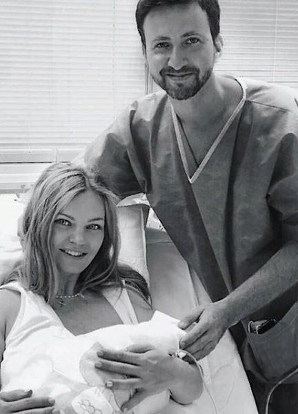 Елена Кулецкая с супругом