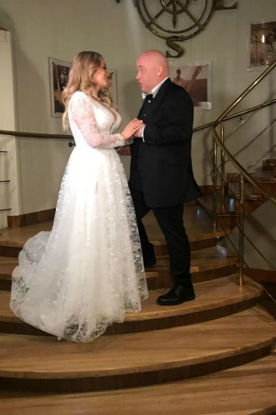 Доминик и Екатерина несколько месяцев готовились к свадьбе