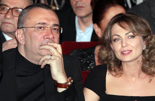 Константин Меладзе с женой Яной