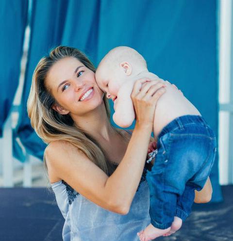 Ольга Казаченко с сыном
