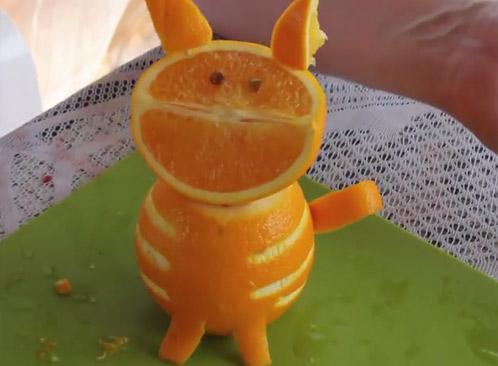 Выпуск 20. Кошка из апельсина