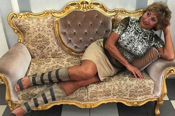 Лариса Копенкина выглядит шикарно для своего возраста