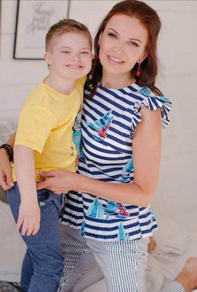 Бледанс удалось сохранить хорошие отношения с бывшим мужем ради сына