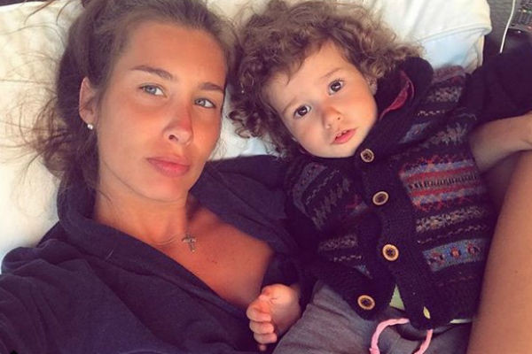 Кети Топурия с дочкой Оливией