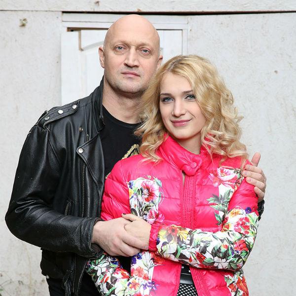 Гоша Куценко с дочерью