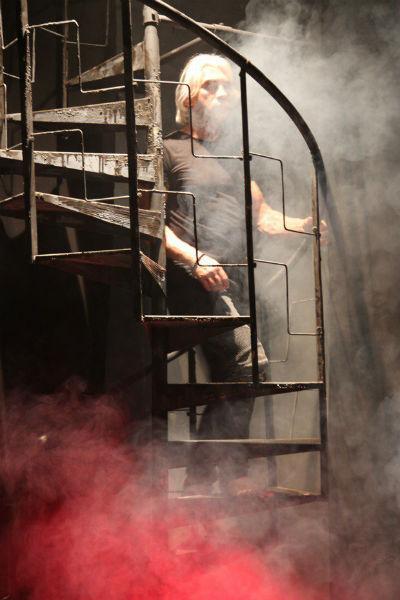 Дмитрий Хворостовский на съемках нового клипа
