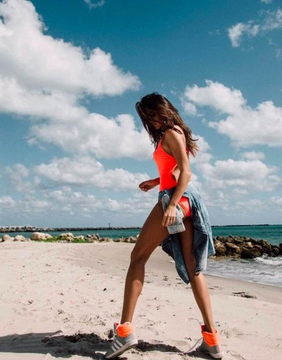 Супруга нападающего НХЛ Евгения Малкина Анна Кастерова в Майами
