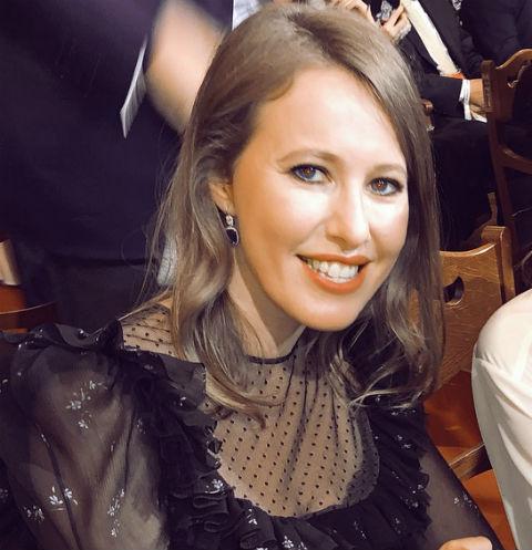 Ксения Собчак призналась, что экс-возлюбленный ее бил