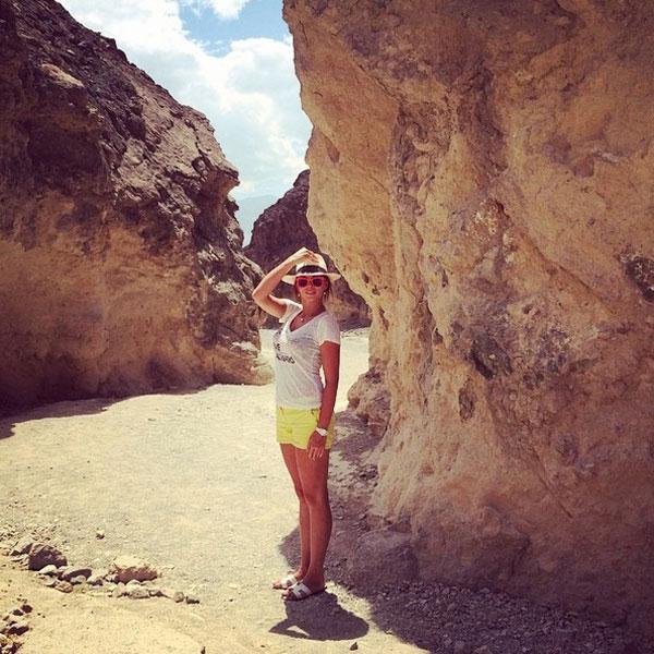 Полина в Золотом каньоне