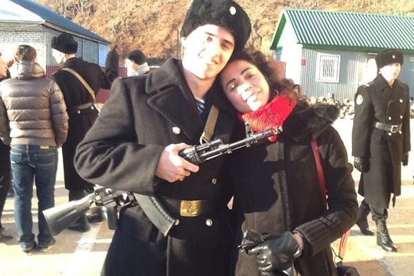 Андрей с мамой, Оксаной Шелест