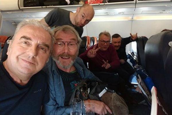 Музыканты группы «Чайф» полжизни проводят в самолетах