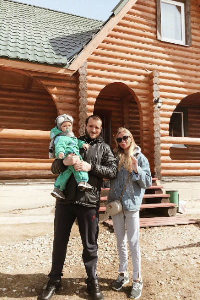 Семья Алексея Самсонова