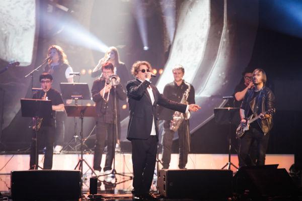 Артист устроил пять концертов, которые проходили с аншлагом