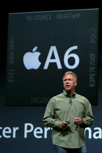 В iPhone 5 задействован процессор Apple A6