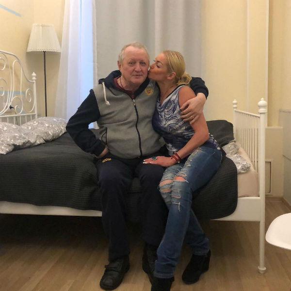 Анастасия Волочкова и ее отец Юрий