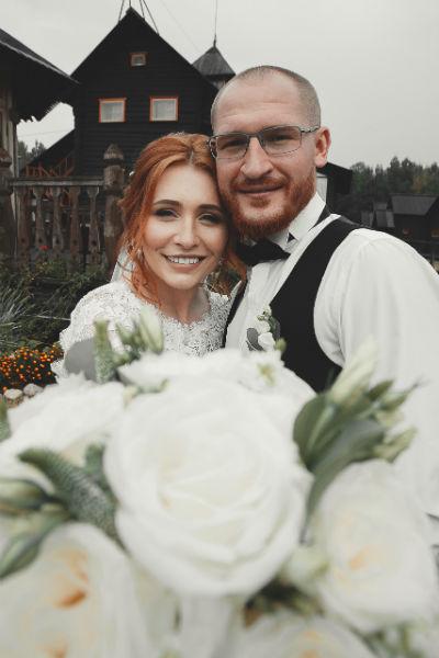 Анастасия и Антон встречались несколько лет до свадьбы