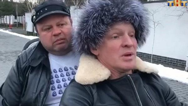 Евгений Никишин и Сергей Писаренко