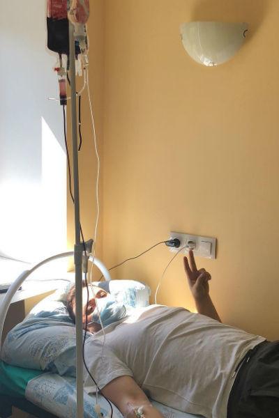 Первое время ведущий находился в больнице Ставрополя