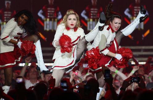 Фрагмент шоу королевы поп-музыки