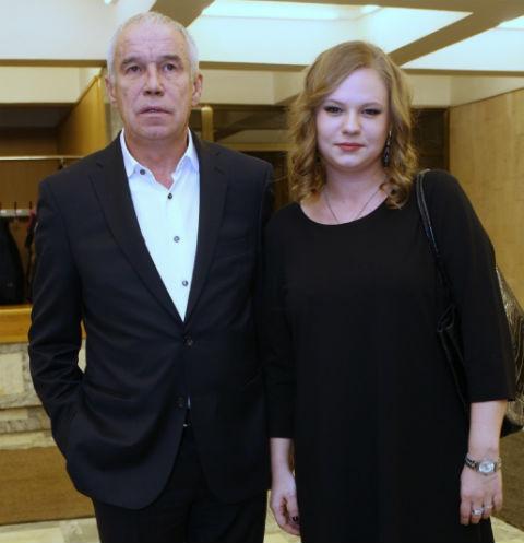 Сергей Гармаш с дочерью Дарьей