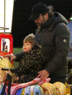 Хавьер Бардем с сыном Лео