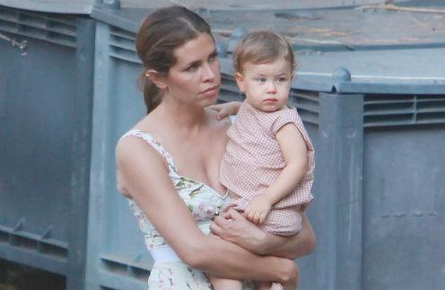 Даша Жукова с дочкой Леей