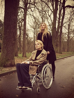 Рената Литвинова и Татьяна Бражник