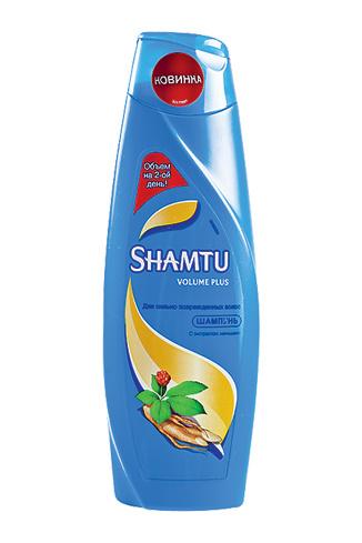 Shamtu, шампунь для сильно поврежденных волос Volume Plus, 120 руб.