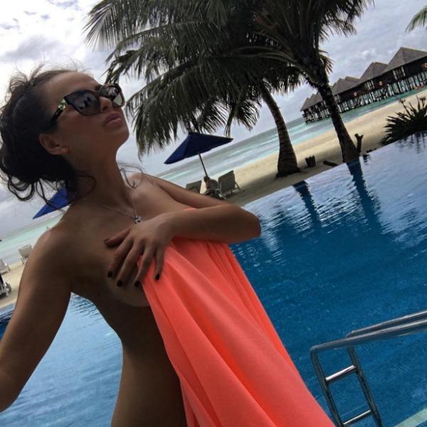 Виктория часто отдыхает на роскошных курортах