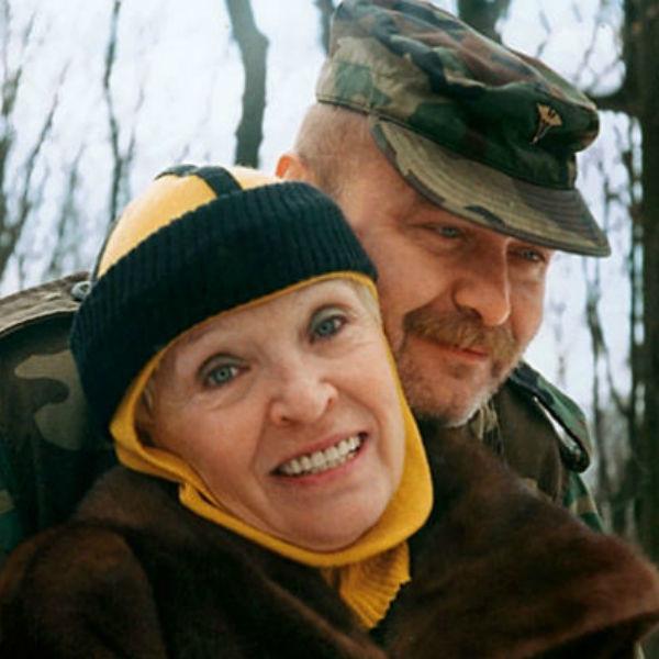 Светлана Светличная с сыном Алексеем