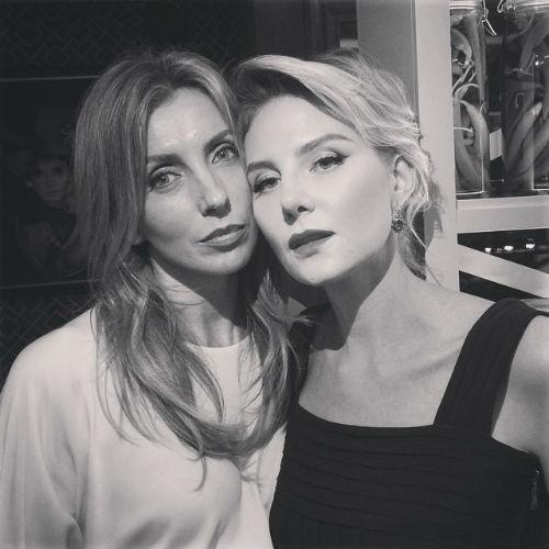 Светлана Бондарчук и Рената Литвинова