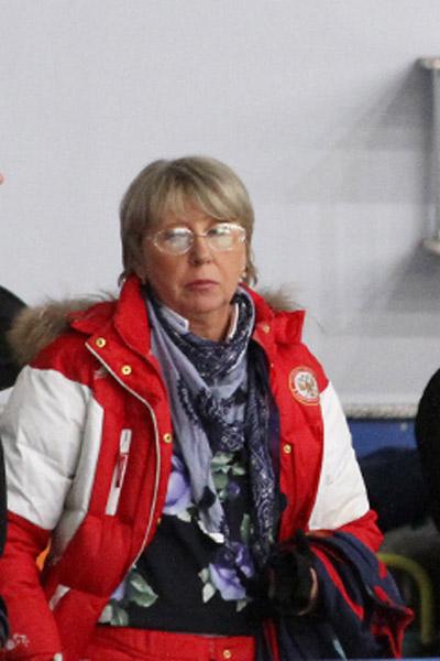 Бывший тренер Антиповой Наталья Павлова