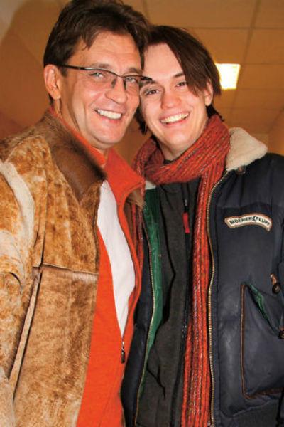 С сыном Александром артист находится в прекрасных отношениях