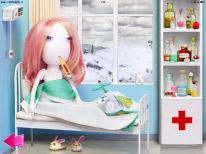 Если Alice одеть неправильно, то она попадет в больницу