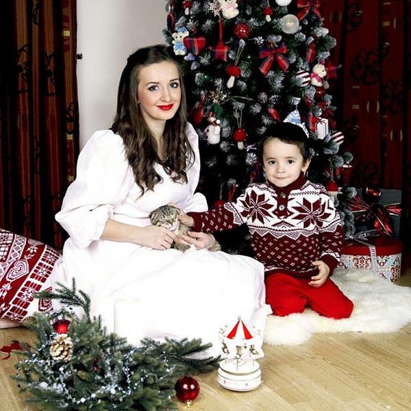 Рита Агибалова с сыном Митей глазами Ольги Гажиенко