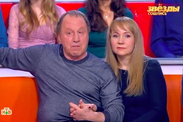 Владимир Стеклов с невестой Ириной