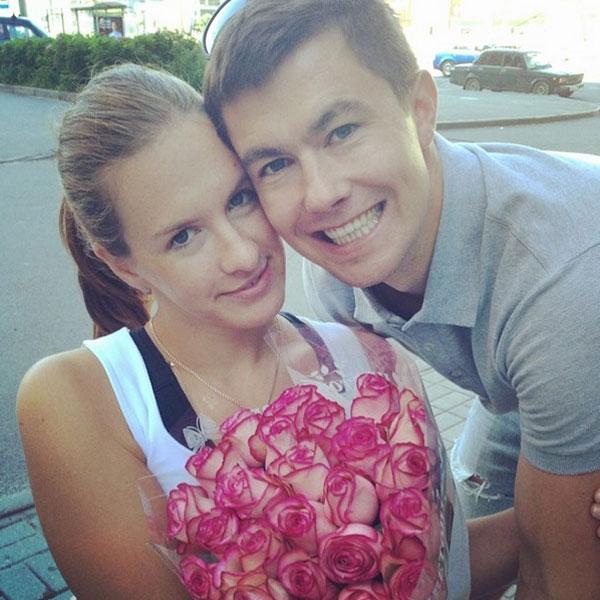 Маша и ее жених Алексей Чаадаев