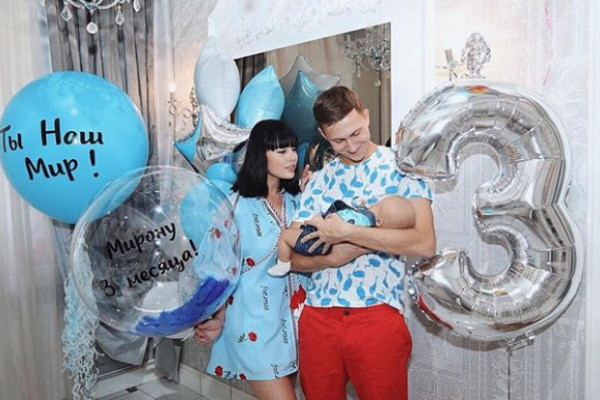 В феврале этого года у Нелли родился сын