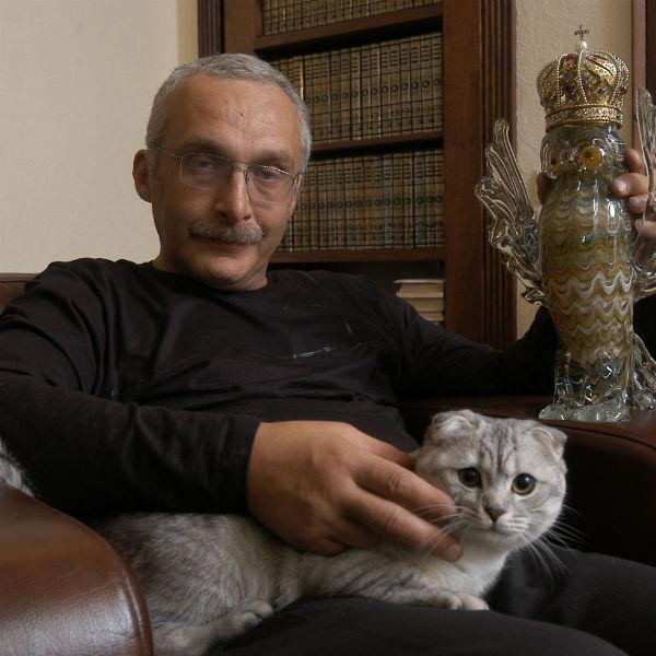 Александр Друзь назвал кота в честь героя мюзикла «Кошки» Скимблшенкса
