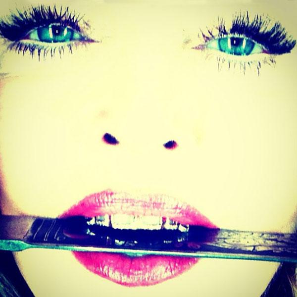 В таком образе Мадонна снималась для глянцевого журнала