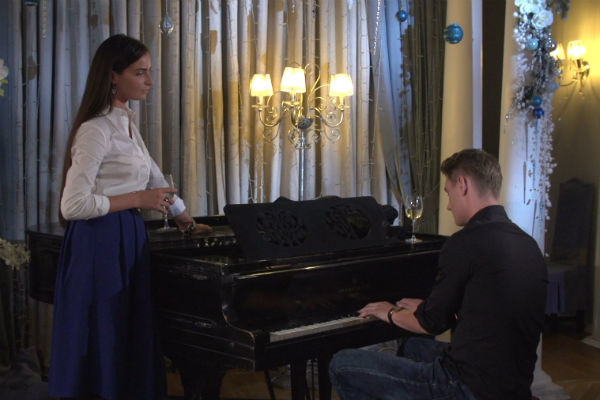Алексей устроил Яне незабываемое свидание