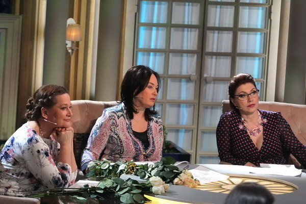 Тамара Глоба на съемках программы «Давай поженимся»