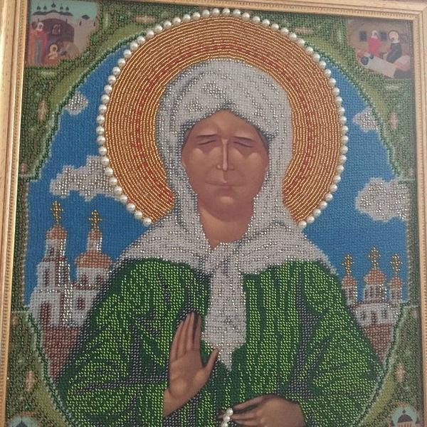 Свекровь Натальи Фриске сама сшила для нее икону Матроны, чтобы она молилась за здоровье сестры