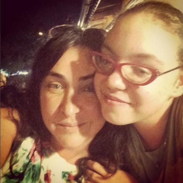 Лолита с дочкой Машей