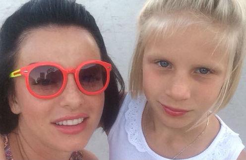 Юлия Волкова с дочерью Викторией
